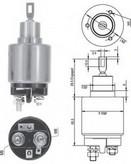 Solenoid, electromotor MAGNETI MARELLI 940113050125