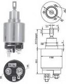 Solenoid, electromotor MAGNETI MARELLI 940113050127