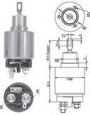 Solenoid, electromotor MAGNETI MARELLI 940113050128