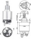 Solenoid, electromotor MAGNETI MARELLI 940113050129