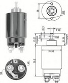Solenoid, electromotor MAGNETI MARELLI 940113050263