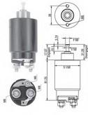 Solenoid, electromotor MAGNETI MARELLI 940113050264