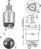Solenoid, electromotor MAGNETI MARELLI 940113050271