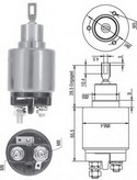 Solenoid, electromotor MAGNETI MARELLI 940113050322