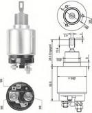 Solenoid, electromotor MAGNETI MARELLI 940113050324