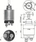 Solenoid, electromotor MAGNETI MARELLI 940113050327