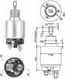 Solenoid, electromotor MAGNETI MARELLI 940113050342
