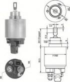 Solenoid, electromotor MAGNETI MARELLI 940113050343