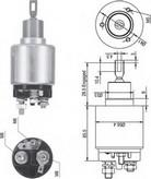 Solenoid, electromotor MAGNETI MARELLI 940113050344