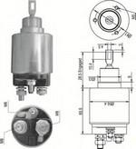 Solenoid, electromotor MAGNETI MARELLI 940113050348