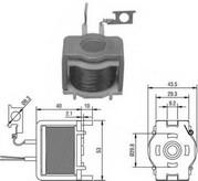 Solenoid, electromotor MAGNETI MARELLI 940113050359