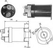 Solenoid, electromotor MAGNETI MARELLI 940113050377