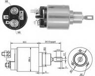 Solenoid, electromotor MAGNETI MARELLI 940113050379