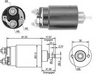 Solenoid, electromotor MAGNETI MARELLI 940113050404