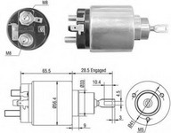 Solenoid, electromotor MAGNETI MARELLI 940113050406