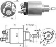 Solenoid, electromotor MAGNETI MARELLI 940113050428
