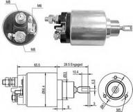 Solenoid, electromotor MAGNETI MARELLI 940113050429