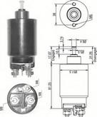 Solenoid, electromotor MAGNETI MARELLI 940113050531
