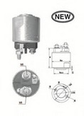 Solenoid, electromotor MAGNETI MARELLI 940113050547