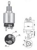 Solenoid, electromotor MAGNETI MARELLI 940113050558