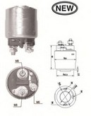 Solenoid, electromotor MAGNETI MARELLI 940113050562